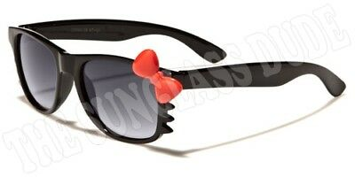 Sunglasses New Kids Sport Shades Wraps Locs UV400 Boys Girls Black KD28A