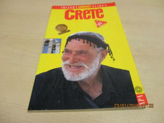 Crete Insight Compact Guide (Insight Compact Guides)-  ONE OWNER