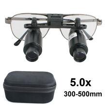 50x 5x 300 500mm Dental Loupes Surgical Medical Binocular Magnifier Adjustable
