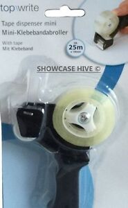Mini dévidoir à ruban adhésif manche avec scotch fourni dérouleur tape dispenser