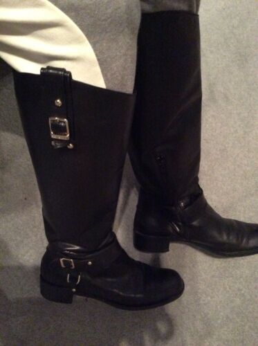 Boots Size 4 Uk And Rrp 37 Russell Black £360 Calf Wide Bromley d4cqy6wWI