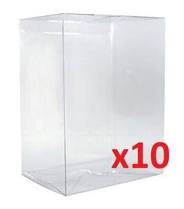 FUNKO-POP-4-034-VINYL-BOX-PROTECTOR-Radical-Retro-Strong-Stackable-Auto-Lock-x10