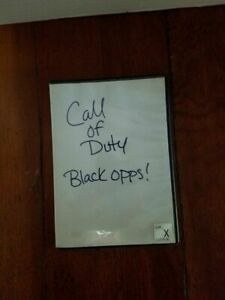 Sony PS3 Call Of Duty Black Ops Video Game Generic Case Disc Tested