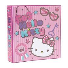 Hello Kitty 3-ring Binder / School Binder : Lovely Kitty
