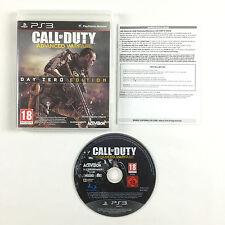 Jeu Call of Duty Advanced Warfare PS3 Sur Console Sony Playstation 3