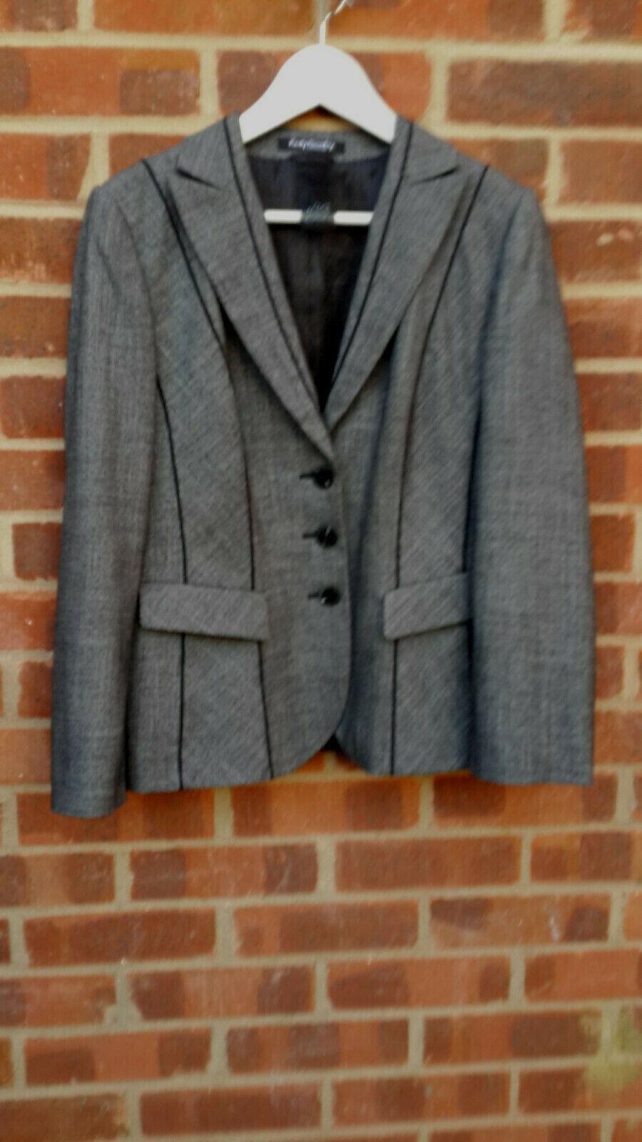 Betty Barclay Grey Jacket UK size 14 EU 40