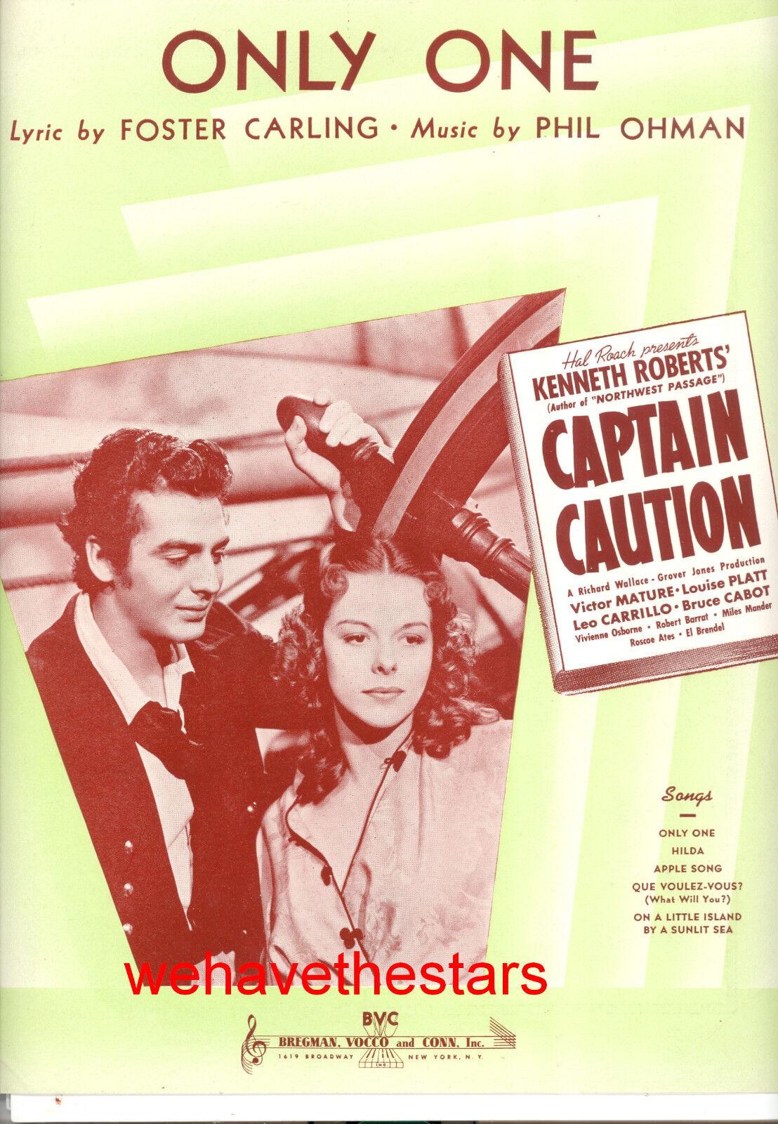 CAPTAIN CAUTION Sheet Music