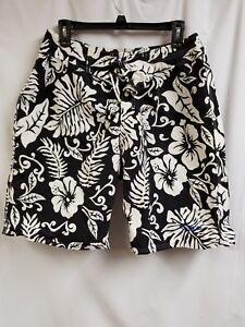 e92567d94d Swim Shorts. Men's OP Brand Size 33, Black & White. Preowned. | eBay