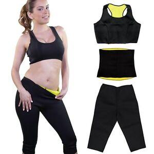f408a47e7c Women Lady Neoprene Body Shaper Slimming Train Waist Pants Slim Belt ...