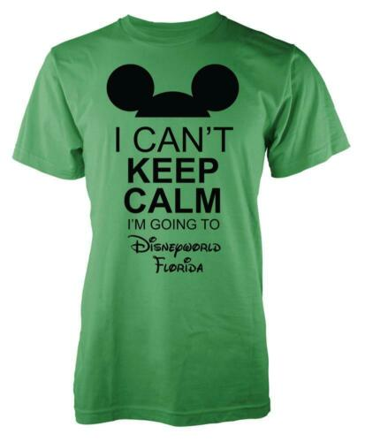 Mickey I Cant Keep Calm I/'m Going To Disneyworld Florida Kids T Shirt
