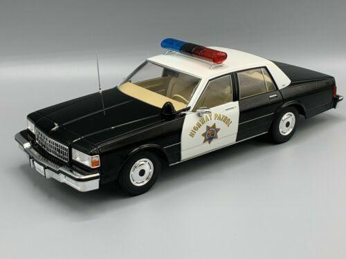 California Highway Patrol 1987  1:18 MCG 18114  *NEW* Chevrolet Caprice