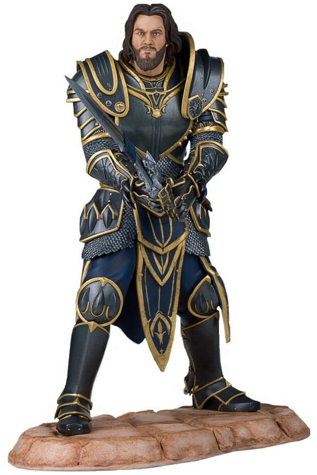 WORLD OF WARCRAFT - Lothar 1 6 Scale Statue (Gentle Giant)  NEW