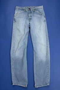 Levis-engineered-131-784-jeans-usato-uomo-W30-L34-tg-44-relaxed-boyfriend-T5139