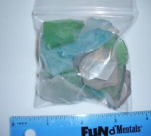 D00136  Multi/MIxed Color Sea glass,Crafts,J<wbr/>ewelry,OOAK,Do<wbr/>lls,Floral,Til<wbr/>e