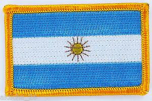 Patch Ecusson Brode Drapeau Argentine Insigne Thermocollant Neuf Flag Patche Vdc7qw9z-07234225-568104070