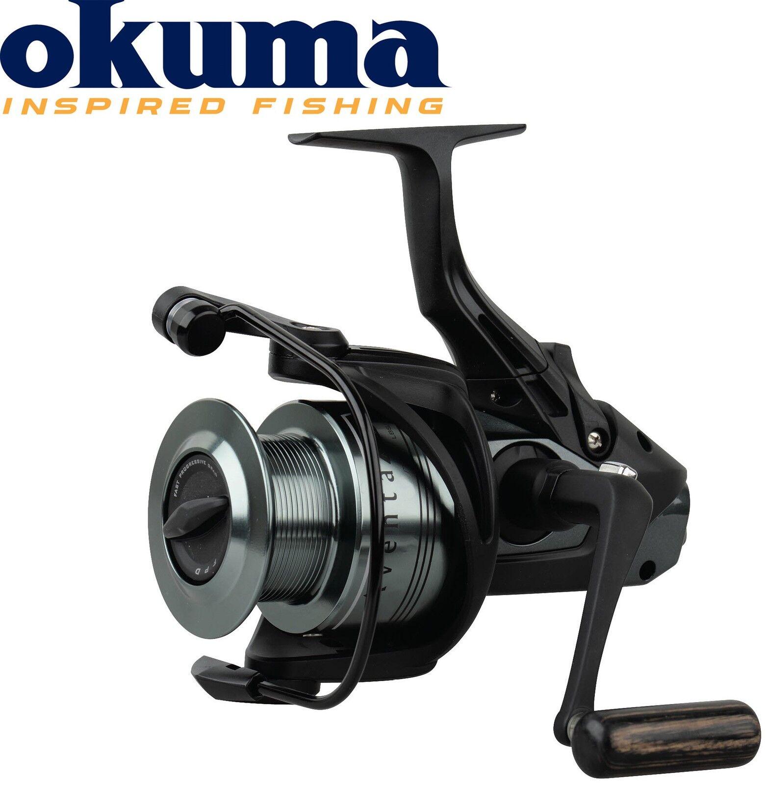Okuma Aventa Baitfeeder AB-8000 – Stationärrolle für Karpfen, Freilaufrolle