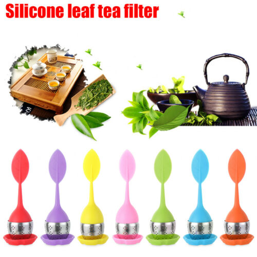 Details about  /Filter Diffuser Leaf Tea Strainer Tea Infuser Silicone Tea Ball Coffee Filter