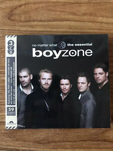 Boyzone-No-Matter-What-The-Essential-Boyzone-CD-Brand-New-Sealed