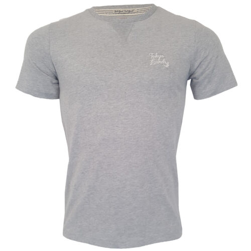 Mens T Shirt Tokyo Laundry Hemsby Short Sleeved Westby Henley Style Top Summer