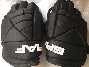 GRAF-Youth-Hockey-Gloves-G15-9-Black-Ice-Skate-Kids