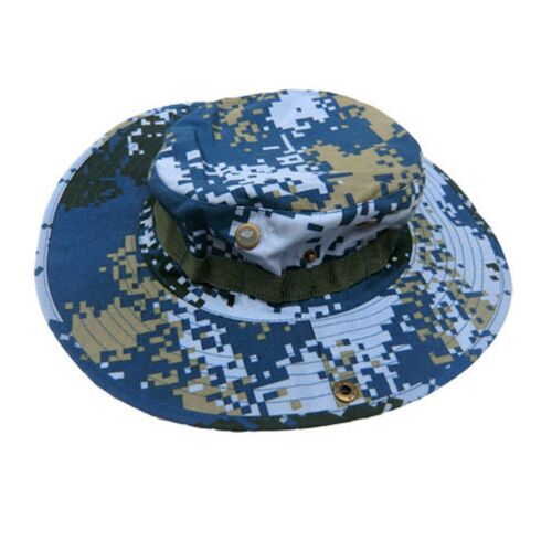Hiking hat fishing Tent beach traveling washable cotton wild camping wide hem