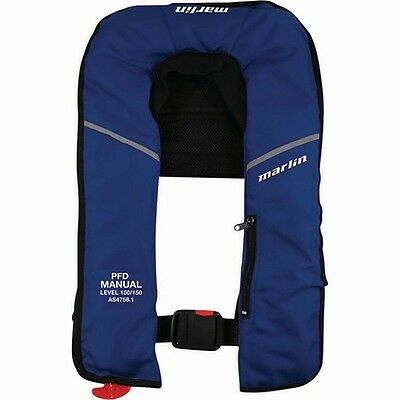 Marlin Explorer, Manual inflatable PFD 150 -  Blue - Boating Camping Fishing