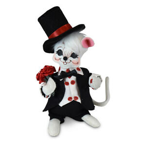 Annalee-Dolls-2020-Valentine-6in-Sweetheart-Boy-Mouse-Plush-New-with-Tags