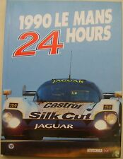 Le Mans 24 Hours 1990 Annual in English high quality book with dust wrapper