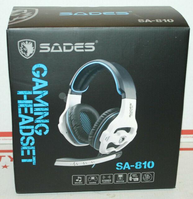 SADES SA920PLUS Noise SA920PLUS Black Stereo Gaming Headset PS4 Xbox One S