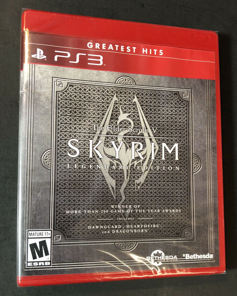 The Elder Scrolls V Skyrim Legendary Edition [ Greatest Hits ] (PS3) NEW