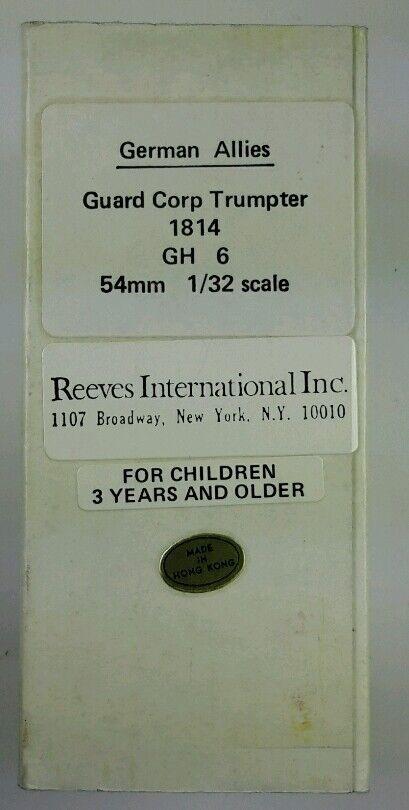 Reeves     GH-6 GERMAN ALLIES  GUARD CORP TRUMPER 1814 1 32 (54mm) 31de34