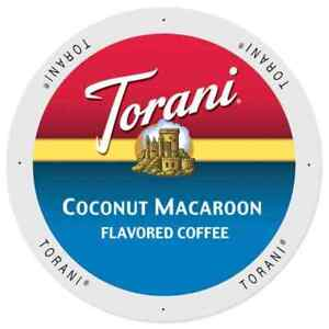 Torani-Coconut-Macaroon-Coffee-48-or-96-Keurig-K-cup-Pick-Any-Size-FREE-SHIPPING