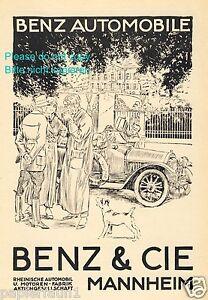 Benz-amp-Cie-Mannheim-Reklame-1914-Auto-Automobil-Fahrer-Mode-Hund-Werbung-ad