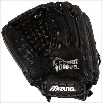 "Sporting Goods Gloves & Mitts Humor Mizuno Prospect Fastpitch Power Close Leather Baseball Glove Rht 12"" Black Comfortable And Easy To Wear"