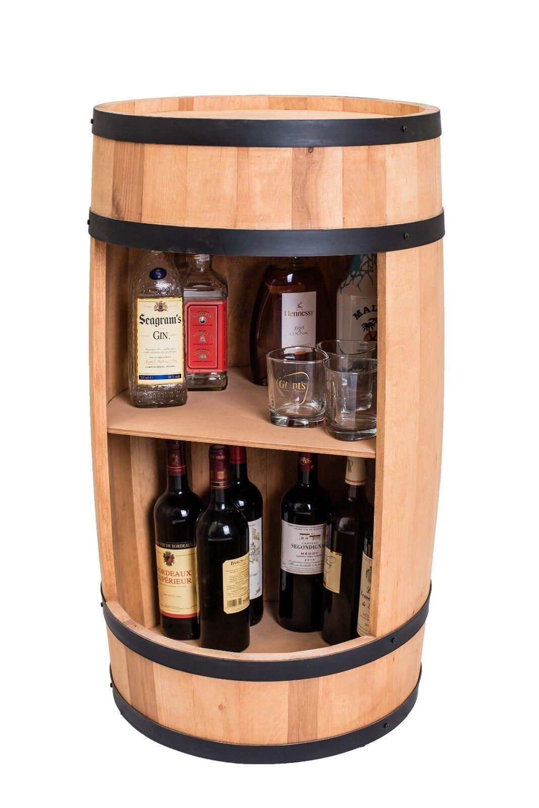 En bois baril, tonneau Bar, mini bar 81 cm, vin cabinet, whisky bar, fabricant