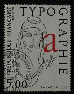 timbre poste. France. n°2407. La Typographie