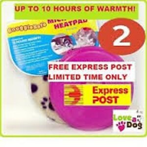 Image Is Loading Snugglesafe Microwave Heat Pad For Pets 2 Pack