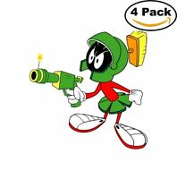 Marvin The Martian 4 Stickers Cartoon Window Sticker Decal 4x4_6