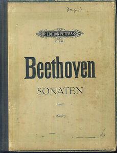 BEETHOVEN-Sonaten-Band-1-gebunden
