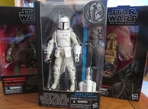 Star Wars Black Series 2014 Prototype Boba Fett Snowtrooper Tfa