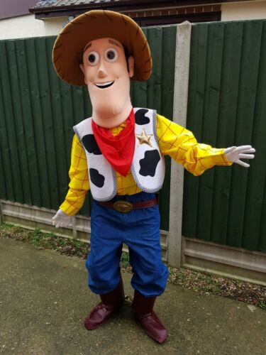 Adults Toy story Buzz or Woody Mascot Costume HIRE for Party Events in LEICESTER