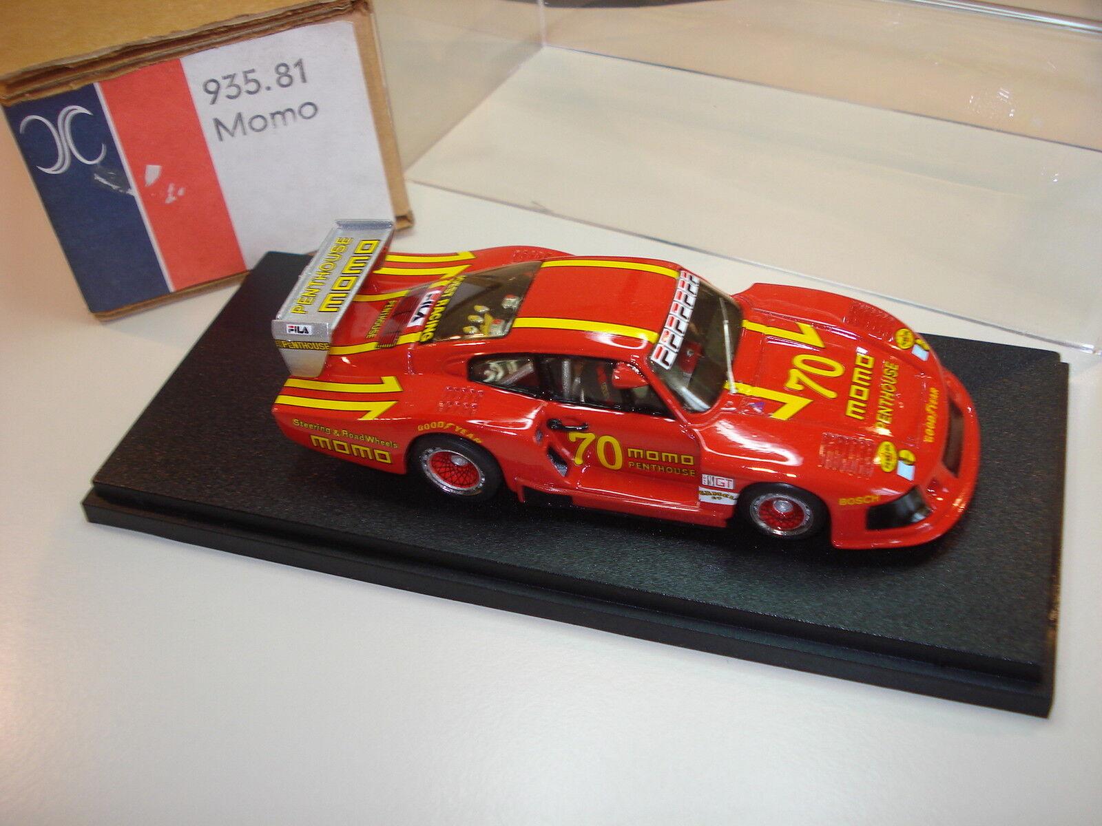 Porsche 935 / 81 Momo Nr. 70 DRM 1981 Norisring 1/43 Kit built AMR Kit