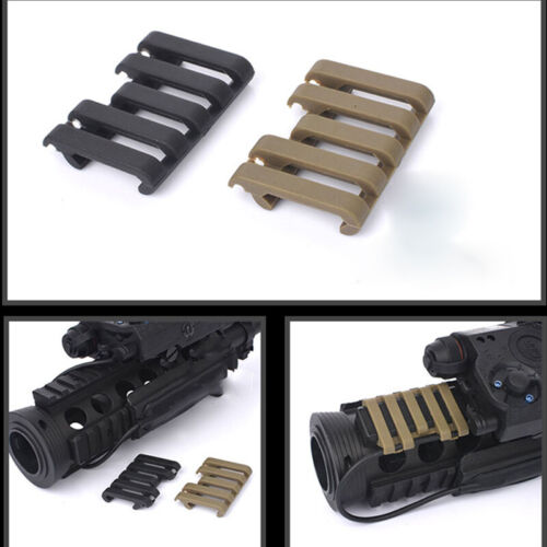 Hunting 5-slots Rail Cover Mounts Accessory Optics Rail Cover Protector Covers
