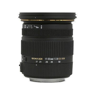 Sigma 17-50mm f/2.8 EX DC OS HSM Zoom Lens for Canon DSLR with APS-C Sensors