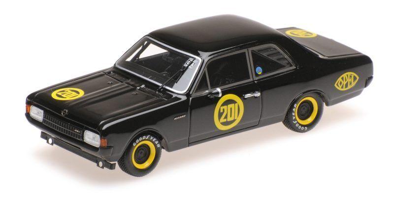 Opel Record 1900 blacke Witwe Bitter Carolus Magnus Zolder 1968 1 43 Model