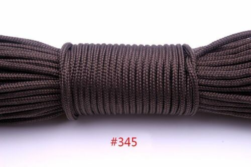 One Stand Cores Paracord 2mm Diameter Parachute Cord Outdoor Tent Lanyard Rope