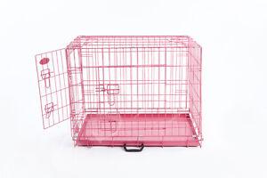 Cage Pour Chien, En Rose Et 3 Tailles