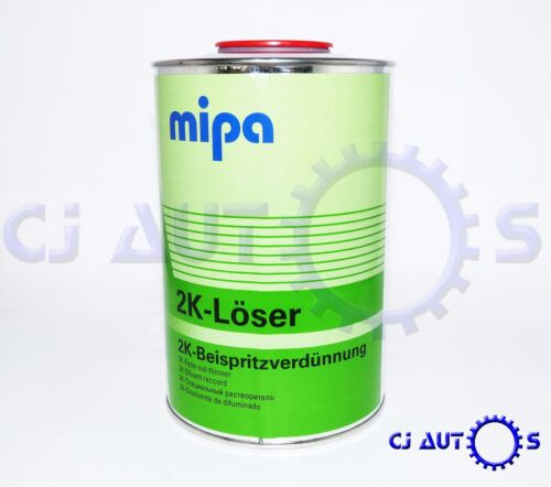 MIPA 2K LOSER FADE OUT THINNER 1L LITRE ADDITIVE BLENDING SOLVENT