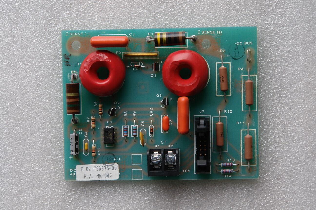 Emerson DC Bus Sensor Board 02-766375-00