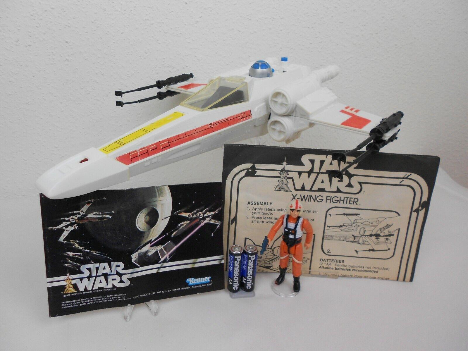 Vintage Star Wars ANH 1978  X-Wing Fighter  Great     Vintage Complete    Kenner